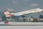 OE-LVF - Austrian Airlines/Arrows/Tyrolean Fokker 100 aircraft