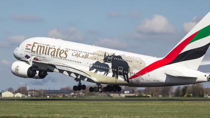 A6-EDG - Emirates Airlines Airbus A380