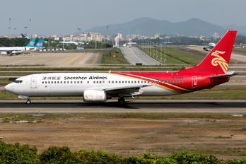 B-5186 - Shenzhen Airlines Boeing 737-800