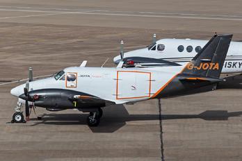G-JOTA - Jota Aviation Beechcraft 90 King Air Cargoliner