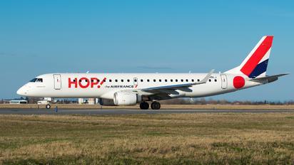 F-HBLJ - Air France - Hop! Embraer ERJ-190 (190-100)