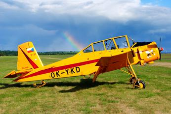 OK-YKD - Private LET Z-37 Čmelák