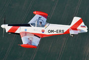 OM-ERS - Aeroklub Bratislava Zlín Aircraft Z-526AFS aircraft