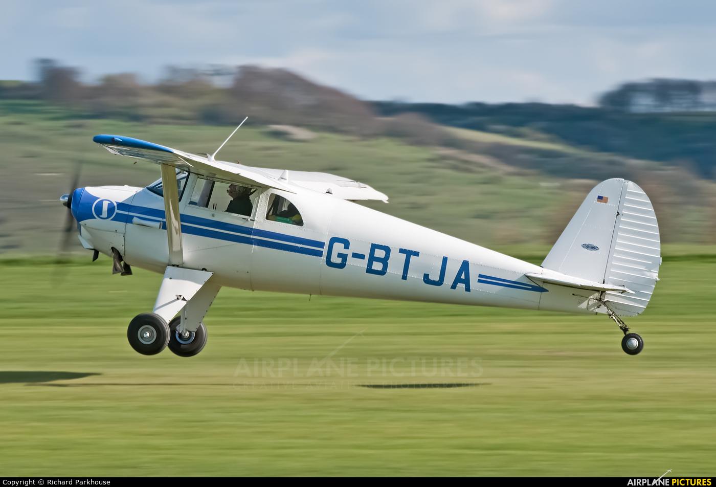 Private G-BTJA aircraft at Old Sarum