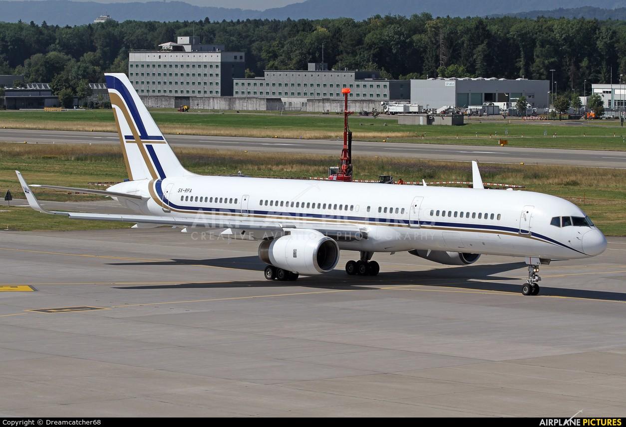 Gainjet SX-RFA aircraft at Zurich