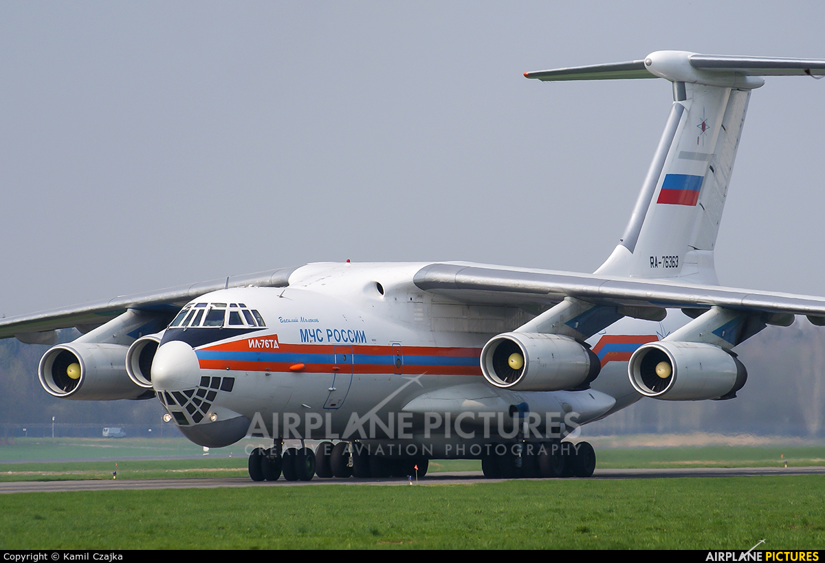 Russia - МЧС России EMERCOM RA-76363 aircraft at Wrocław - Copernicus