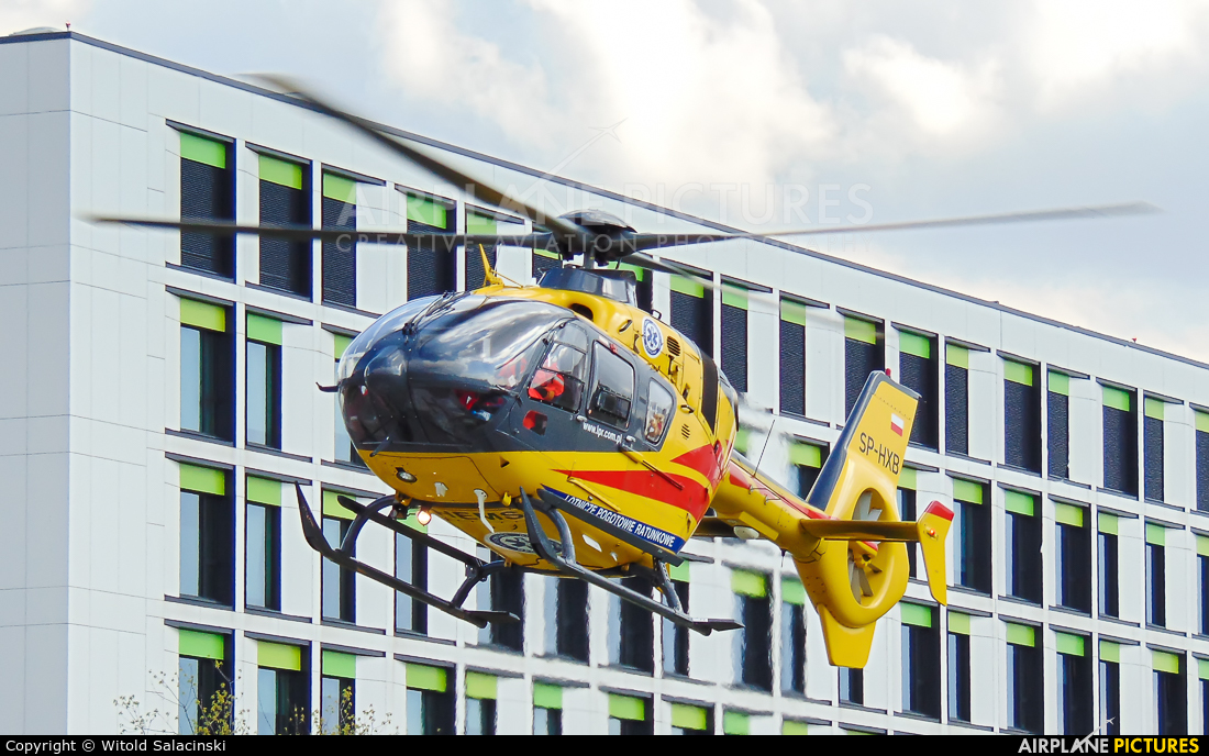 Polish Medical Air Rescue - Lotnicze Pogotowie Ratunkowe SP-HXB aircraft at Warsaw - Off Airport
