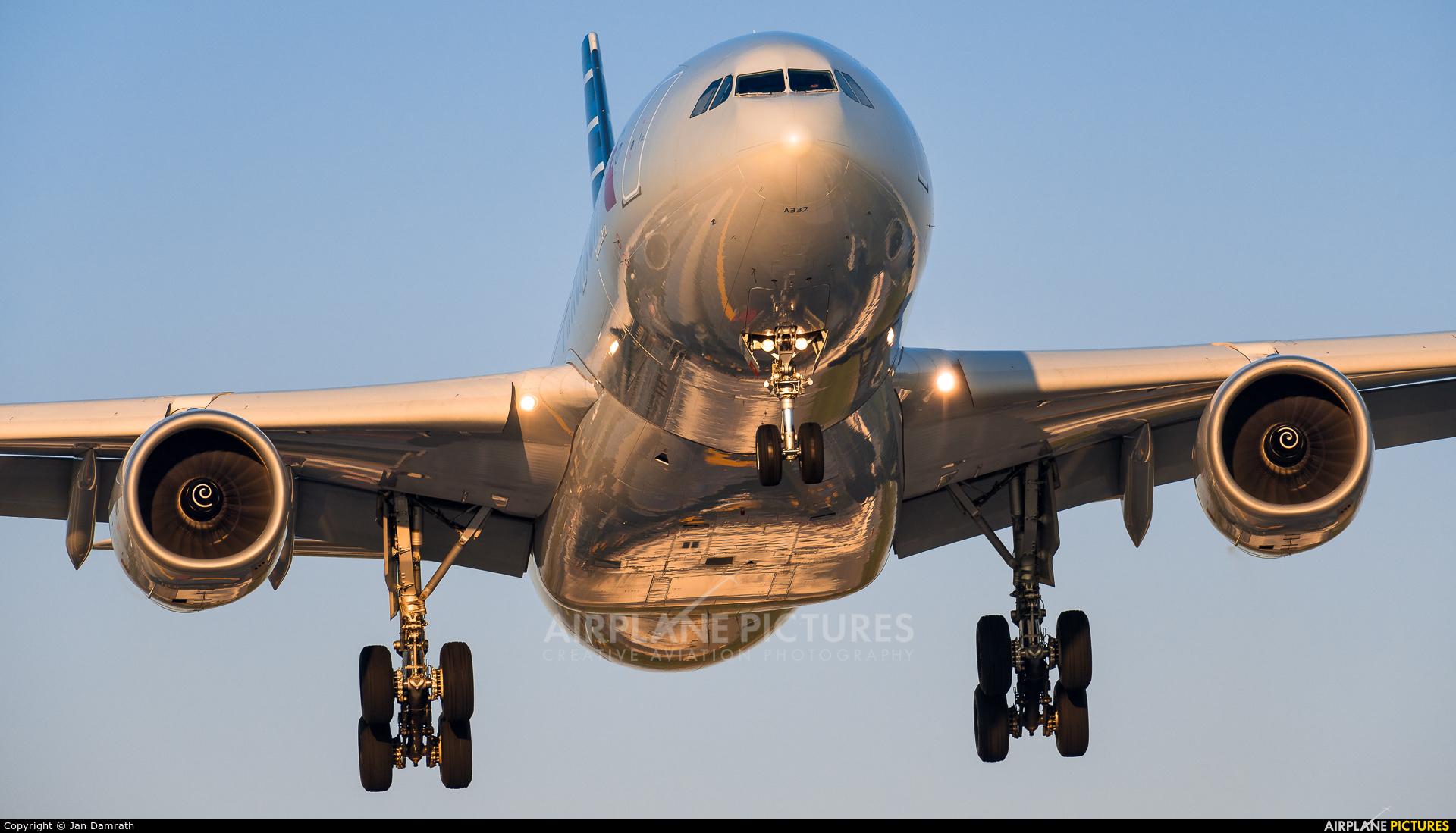 American Airlines N289AY aircraft at Frankfurt