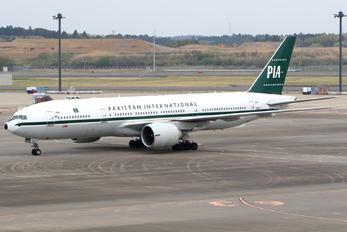 AP-BMG - PIA - Pakistan International Airlines Boeing 777-200ER