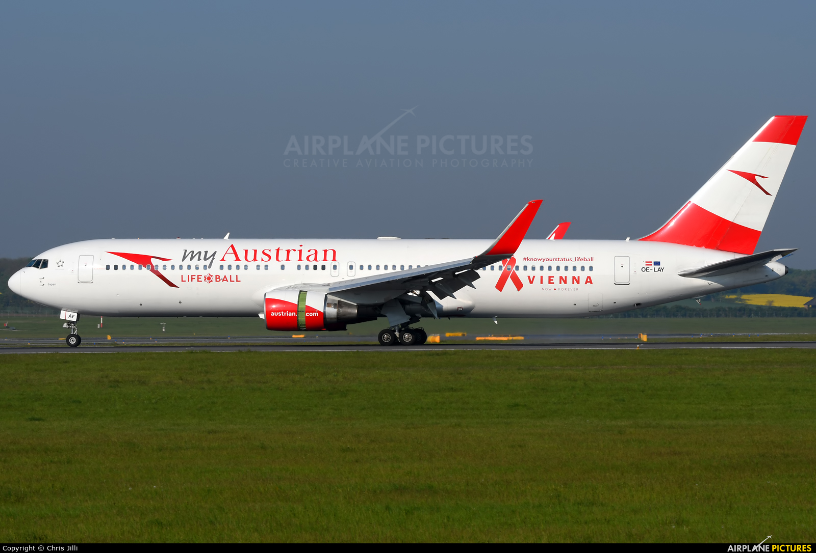 Austrian Airlines/Arrows/Tyrolean OE-LAY aircraft at Vienna - Schwechat