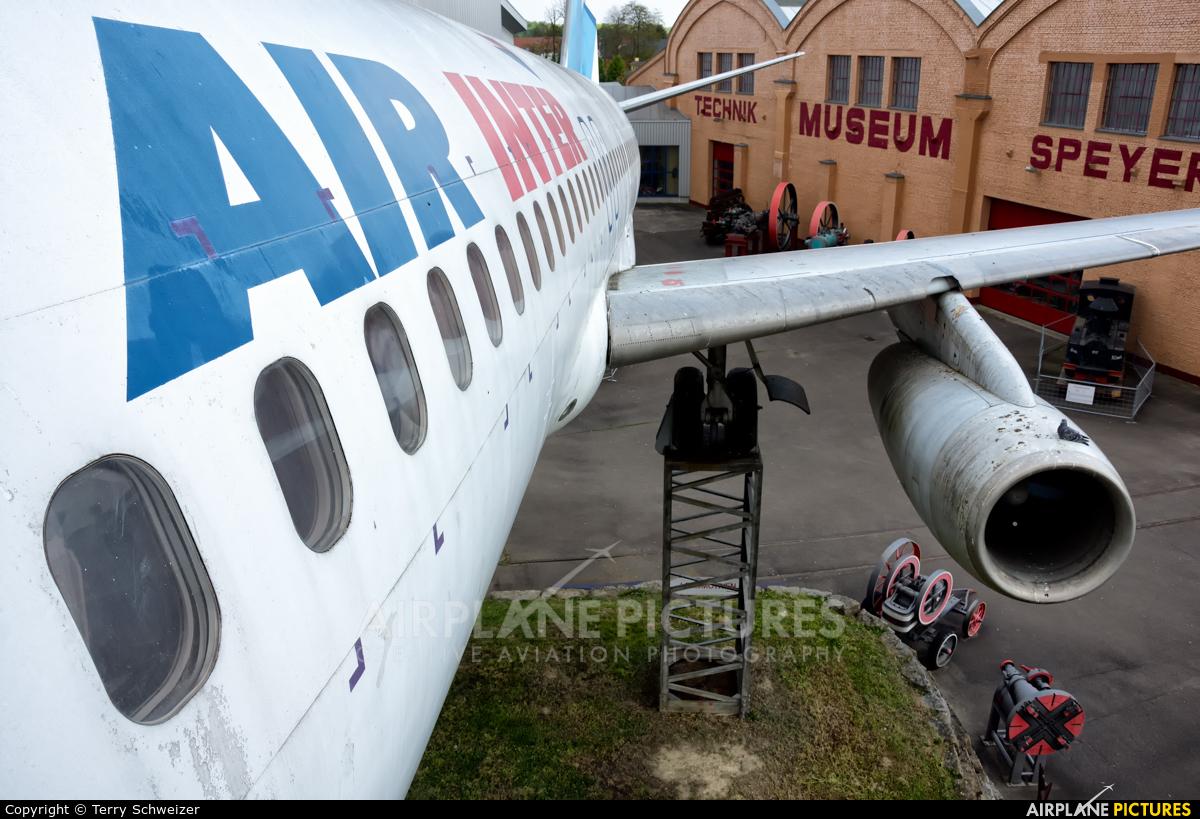Air Inter F-BTTB aircraft at Speyer, Technikmuseum