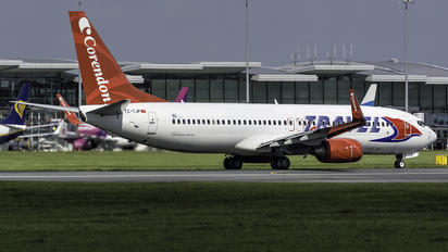 TC-TJP - Travel Service Boeing 737-800