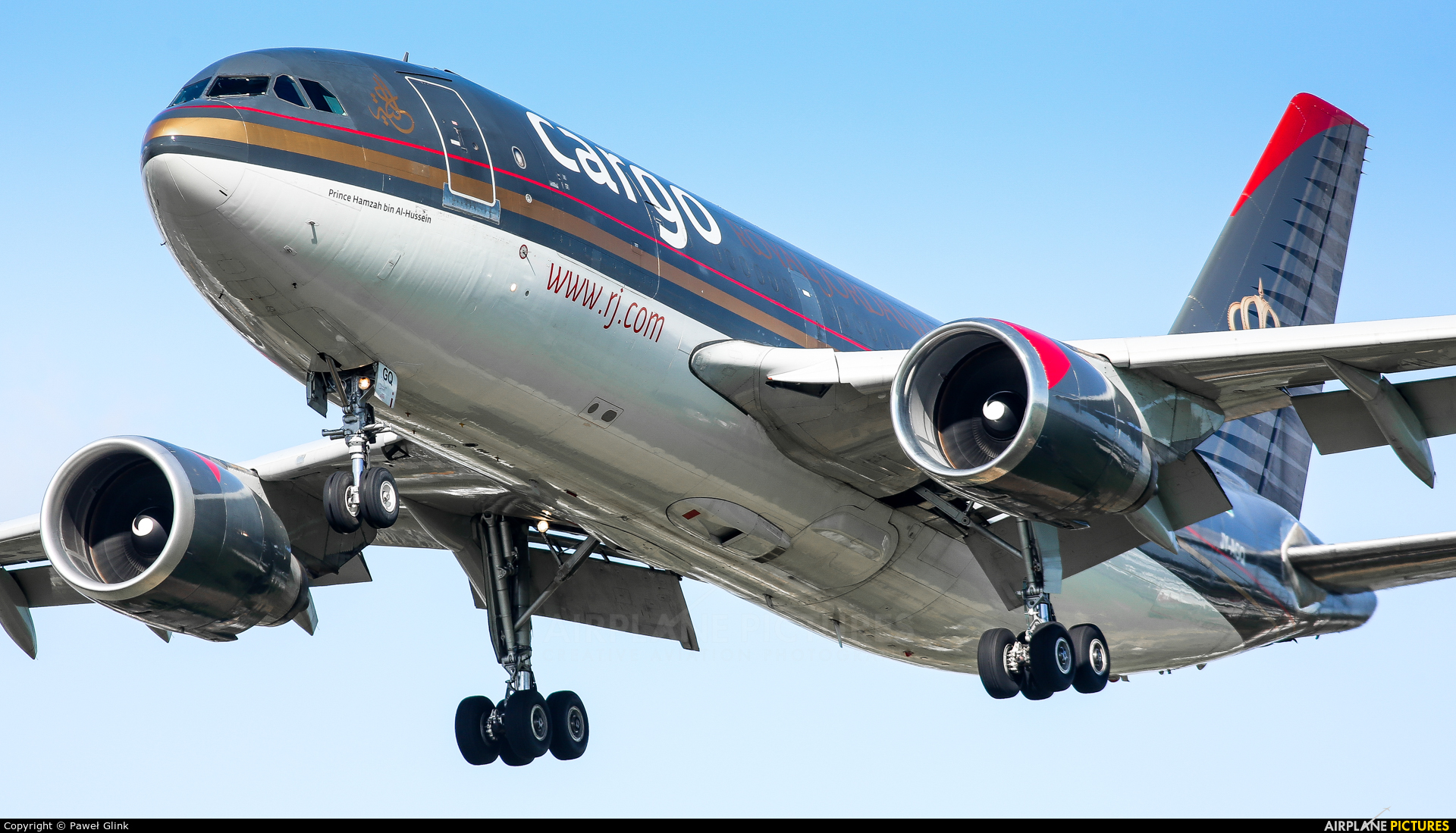 Royal Jordanian Cargo JY-AGQ aircraft at London - Heathrow