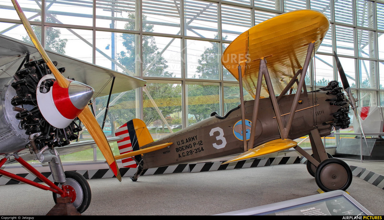 Museum of Flight Foundation N872H aircraft at Seattle - Boeing Field / King County Intl