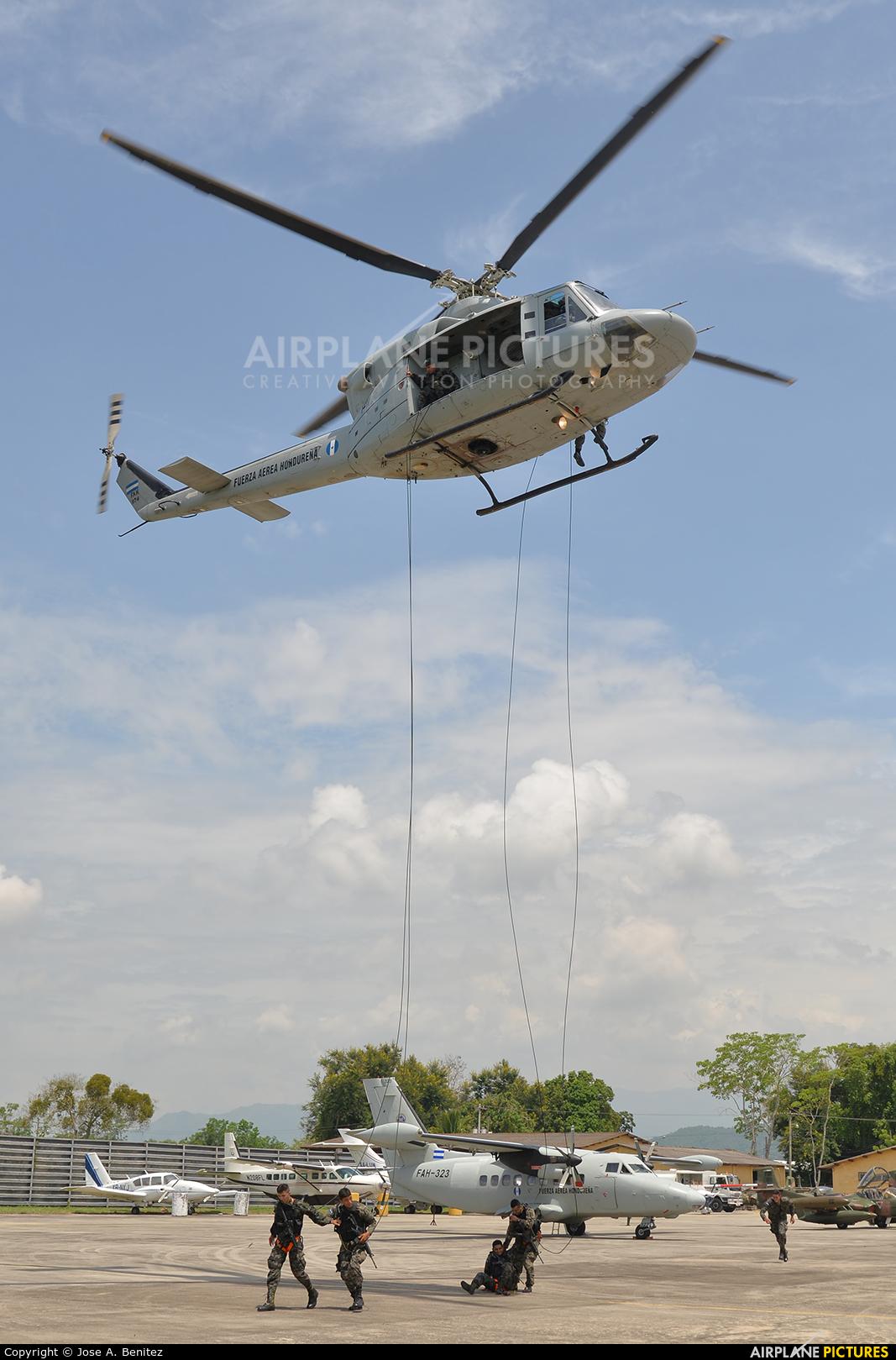 Honduras - Air Force FAH-974 aircraft at San Pedro Sula - Ramon Villeda Morales
