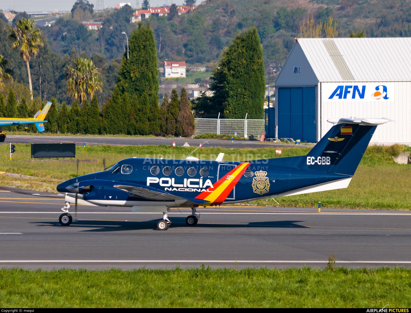 Spain - Police EC-GBB aircraft at La Coruña