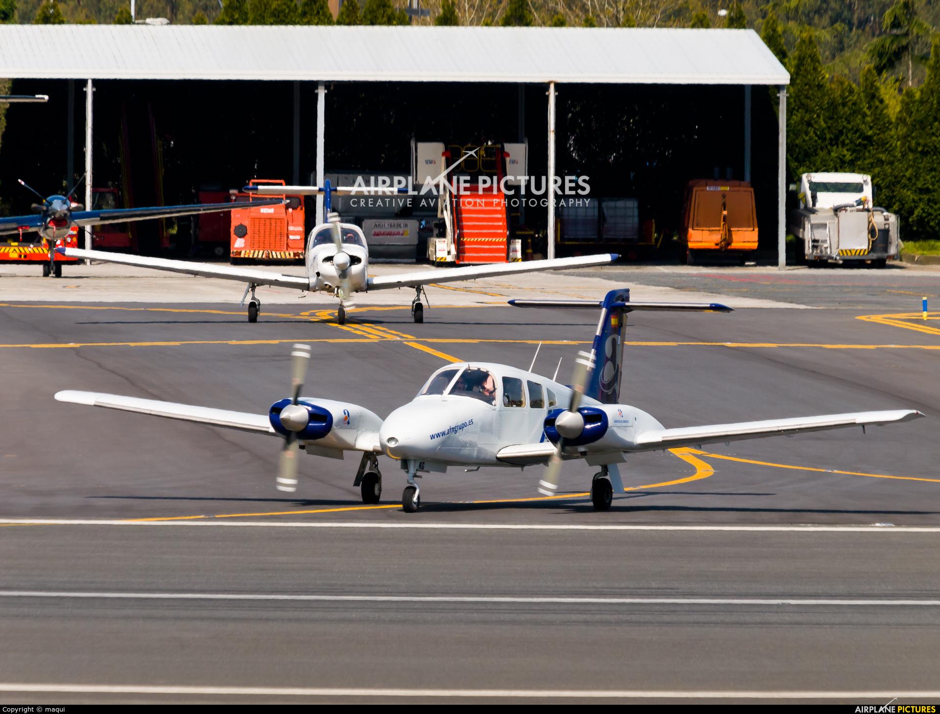 Aeroflota del Noroeste EC-MKG aircraft at La Coruña
