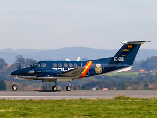 EC-GBB - Spain - Police Beechcraft 200 King Air