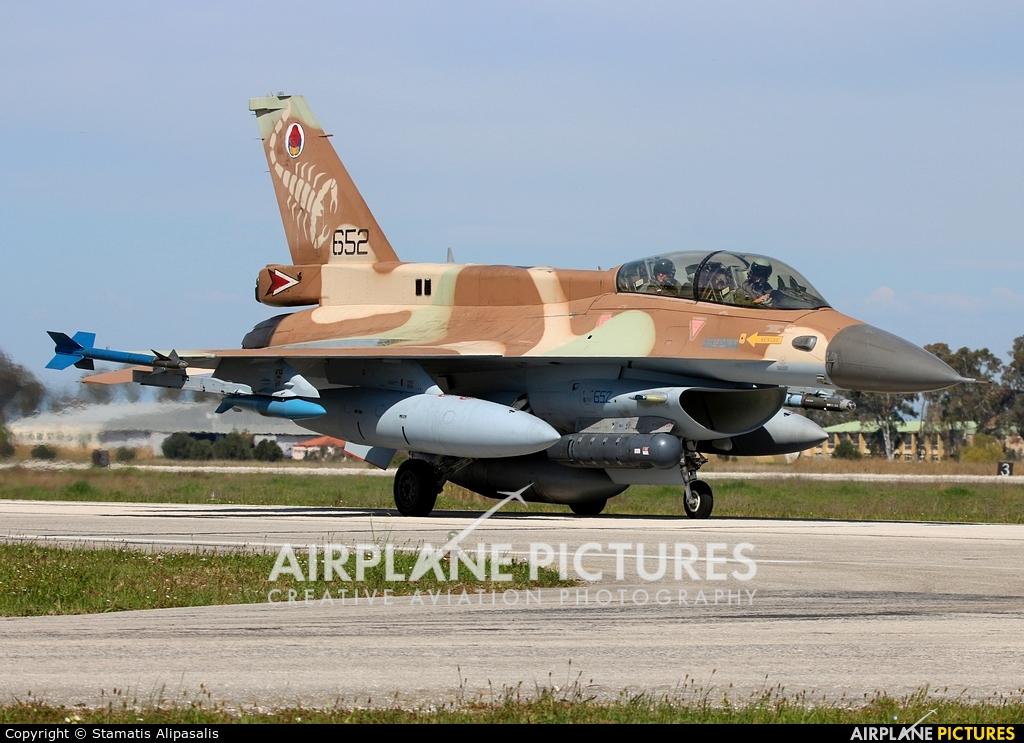 Israel - Defence Force 652 aircraft at Andravida AB