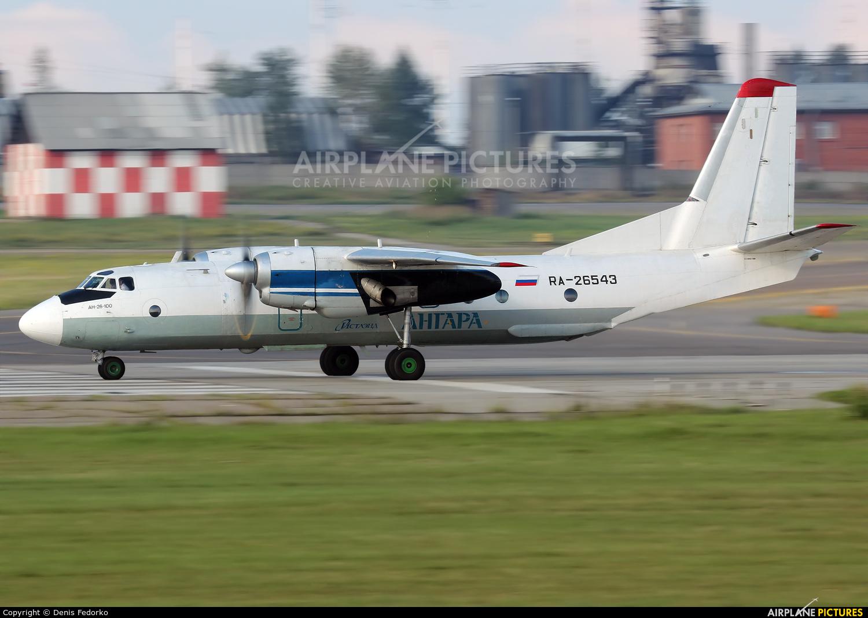 Angara Airlines RA-26543 aircraft at Irkutsk