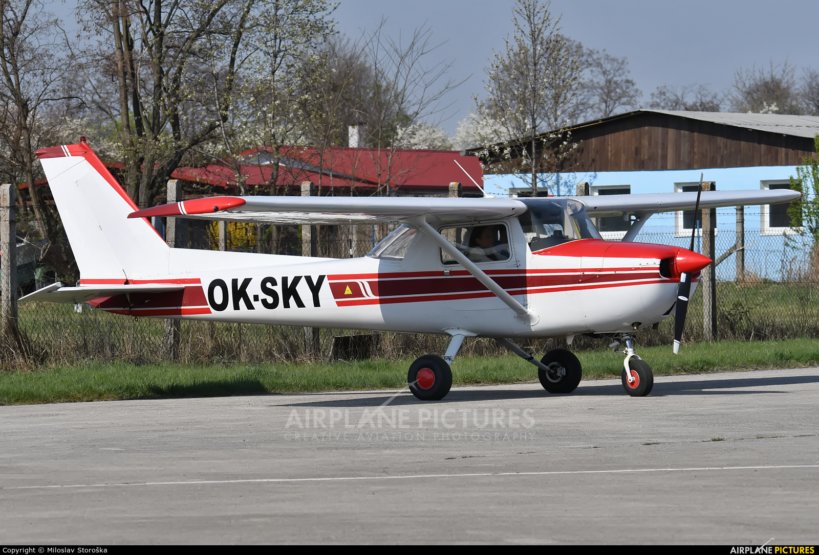 Blue Sky Service OK-SKY aircraft at Trnava- Boleráz