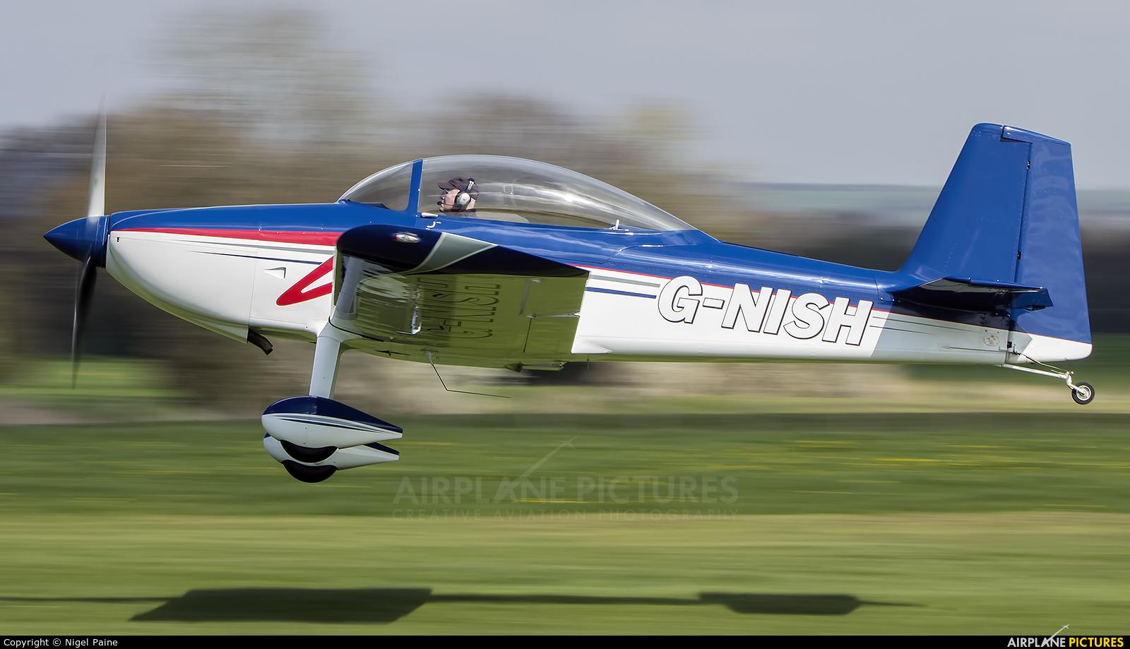 Private G-NISH aircraft at Lashenden / Headcorn