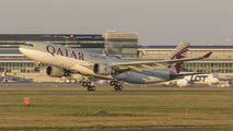 A7-ACL - Qatar Airways Airbus A330-200 aircraft
