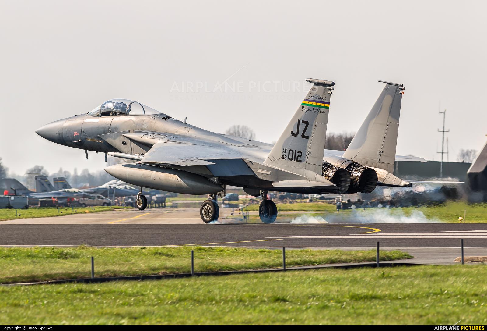 USA - Air National Guard 83-0012 aircraft at Leeuwarden