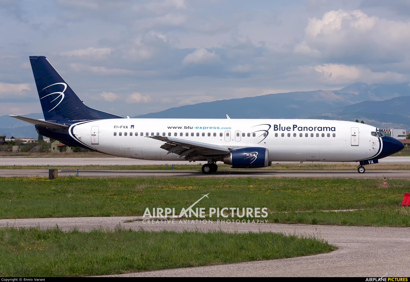 Blue Panorama Airlines EI-FVA aircraft at Verona - Villafranca