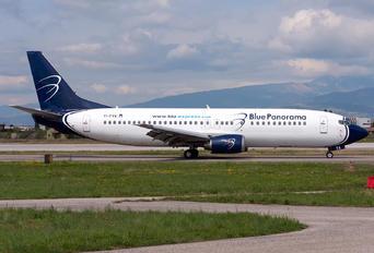 EI-FVA - Blue Panorama Airlines Boeing 737-4Q8