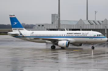 9K-AKJ - Kuwait Airways Airbus A320