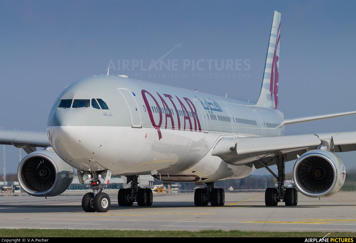 Qatar Airways A7-AGA aircraft at Munich