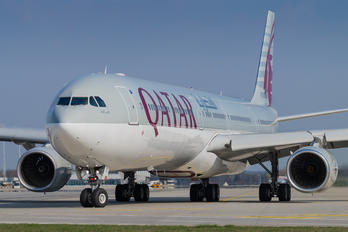 A7-AGA - Qatar Airways Airbus A340-600