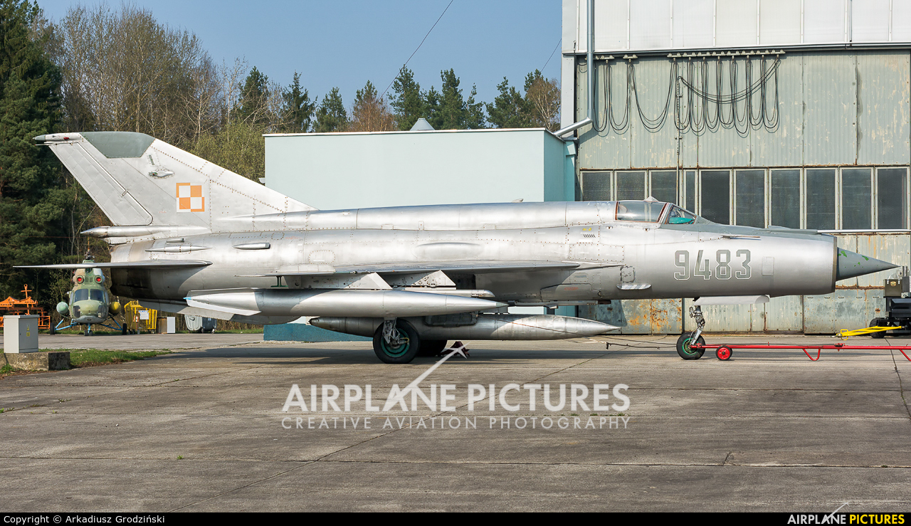 Poland - Air Force 9483 aircraft at Świdwin