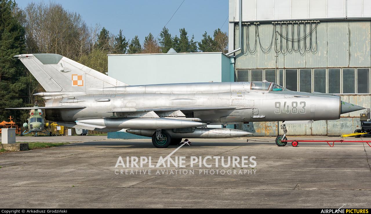 Poland - Air Force 9483 aircraft at Świdwin