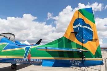 "FAB5707 - Brazil - Air Force ""Esquadrilha da Fumaça"" - Airport Overview - Aircraft Detail"