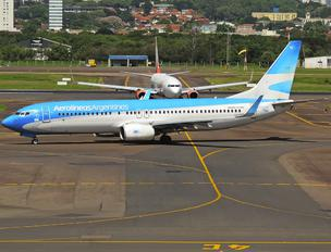 LV-CTC - Aerolineas Argentinas Boeing 737-800