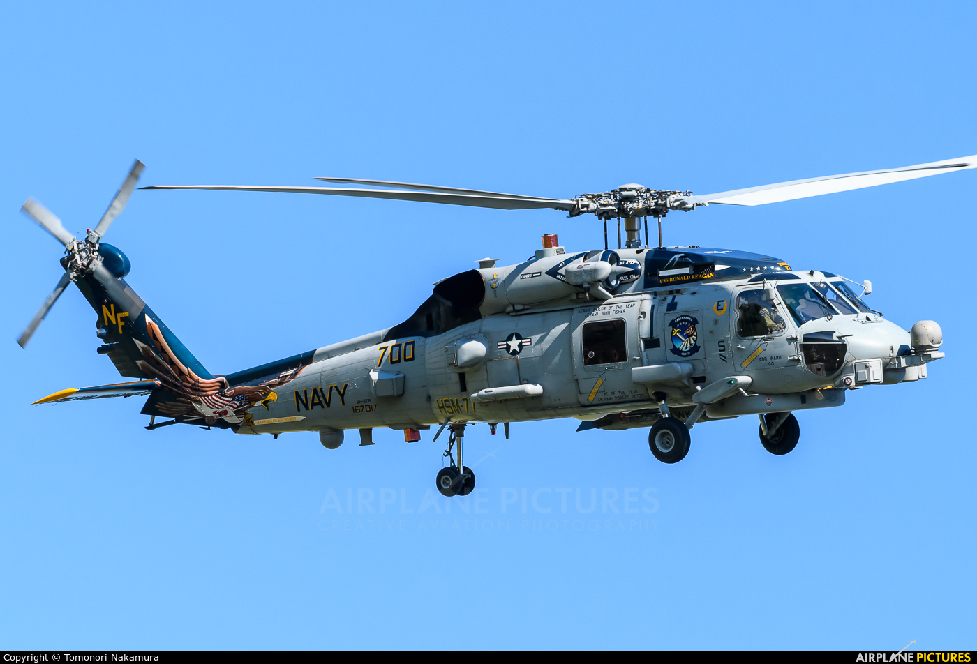 us navy seahawk helicopter with 167017 Usa Navy Sikorsky Mh 60r Seahawk on Mq 8 Fire Scout Vtuav Program By Land Or By Sea additionally Sikorsky Sh 60 Seahawk additionally File US Navy 050101 N 6817C 028 Helicopters depart USS Abraham Lincoln  CVN 72  en route to Aceh  Sumatra  Indonesia in addition Sikorsky Sh 60 Sea Hawk 168573 usa Us Navy 270212 large in addition Iranian Navy Boat Threatens U S Helicopter N689286.