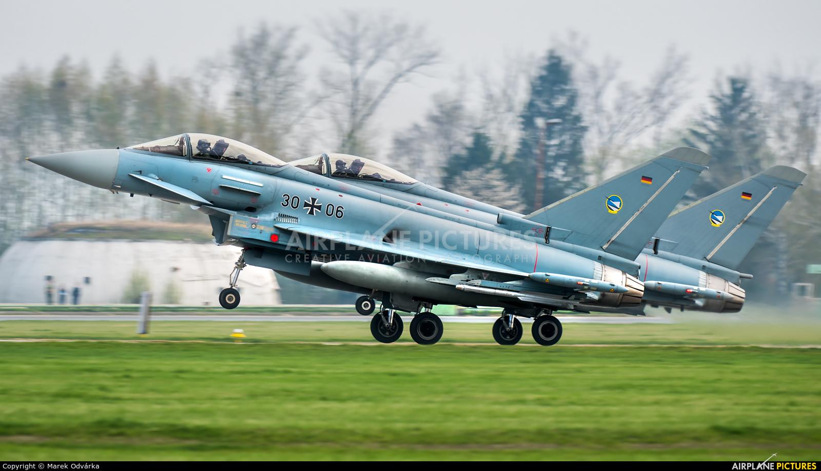 Germany - Air Force 30+06 aircraft at Čáslav
