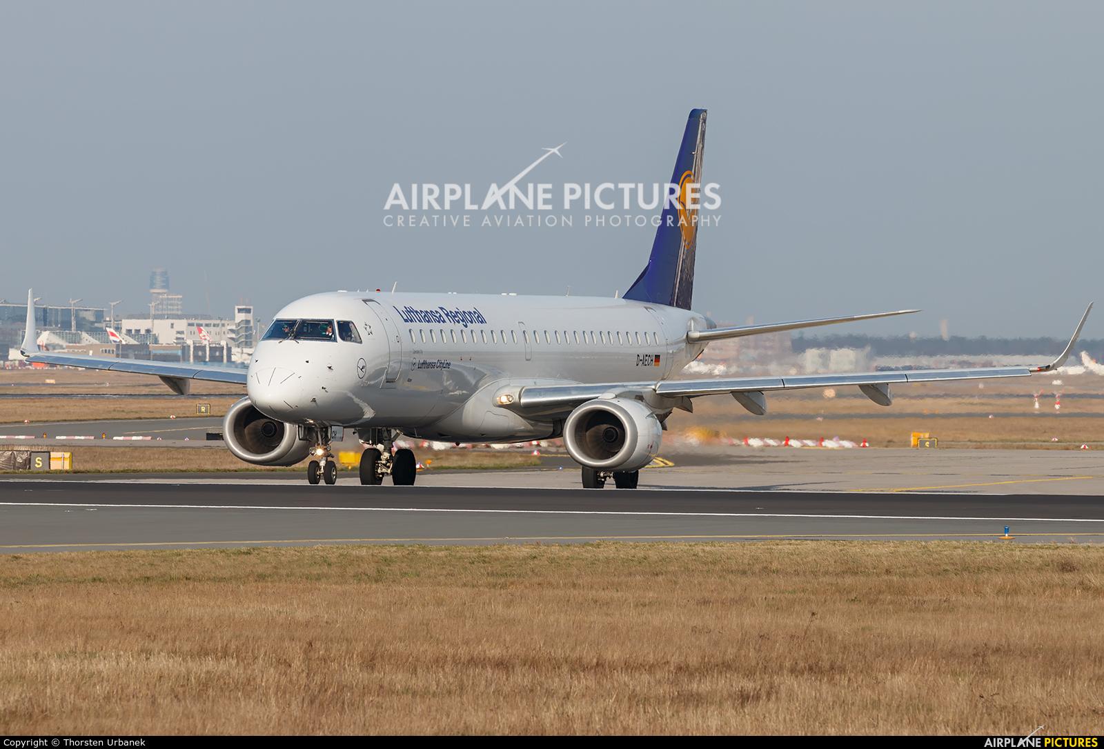 Lufthansa Regional - CityLine D-AECH aircraft at Frankfurt