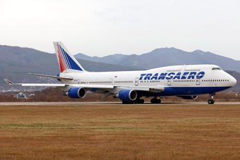 EI-XLH - Transaero Airlines Boeing 747-400