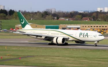 AP-BGJ - PIA - Pakistan International Airlines Boeing 777-200ER