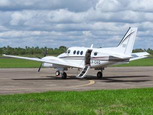 LV-CAQ - Private Beechcraft 90 King Air