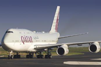 A7-HHE - Qatar Amiri Flight Boeing 747-8