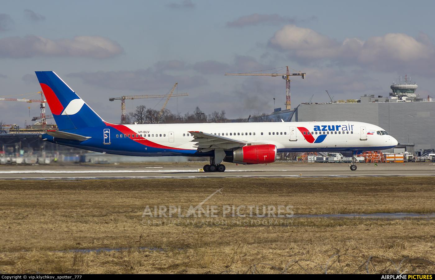 AzurAir VP-BLV aircraft at Moscow - Domodedovo