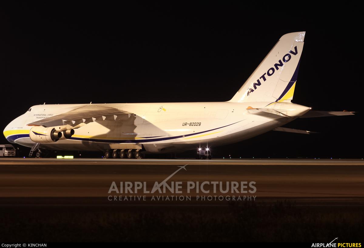 Antonov Airlines /  Design Bureau UR-82029 aircraft at Chubu Centrair Intl