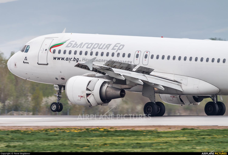 Bulgaria Air LZ-FBD aircraft at Sofia