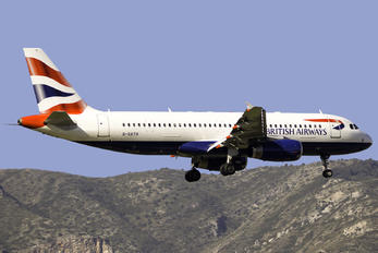 G-GATH - British Airways Airbus A320