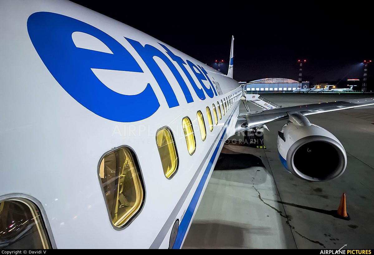 Enter Air SP-ENX aircraft at Warsaw - Frederic Chopin