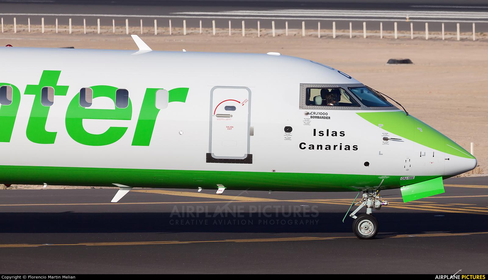 Binter Canarias EC-MOX aircraft at Lanzarote - Arrecife
